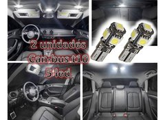 Imagen de Lampara Led T10 5 Led Creed Blanco Frio Can-bus Posicion New