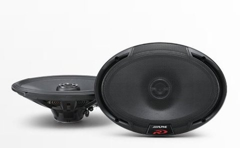 Alpine R-s69 Parlantes 6x9  2 Vias 100 Watts Rms Local