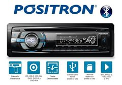 Stereo Positron Sp3320 Bt Cd-aux-bt-radio - Audio Trends