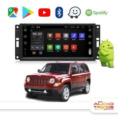 "Stereo Multimedia 7"" Jeep Patriot con GPS - WiFi - Mirror Link para Android/Iphone"
