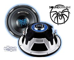 "Subwoofer SoundStream 12"" SW.12 500w - Doble Bobina 250w Reales"