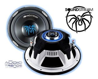 Subwoofer Soundstream Sw.12se 12pulg Rms 250w Linea 2017 New