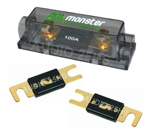 Kit Cables Instalacion Potencia Hasta 2600w Monster Panter