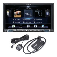 "Imagen de Stereo Alpine ILX-207 7"" con Android Auto - Apple Car Play - Bluetooth - USB"