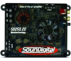 Potencia Soundigital Sd250.2 250w Rms Nano Digital 2 Canales