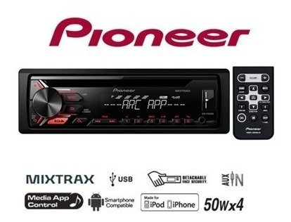 Stereo Pioneer DEH-X1950 con CD - USB