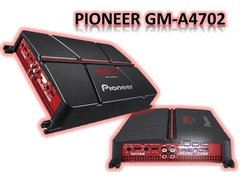 Potencia Pioneer Gm-a4704 4 Ch 520w Max Puentiable 2017 New! - Audio Trends