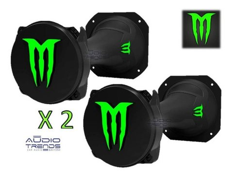Driver Monster/panter Dx500+corneta Larga 250w X 2 Unidades