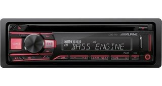Autoéstereo Alpine Cde-170 Usb Cd Mp3 2 Rca Android/iPhone
