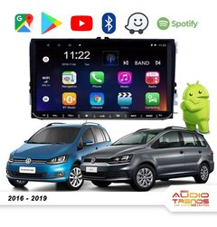 "Stereo Multimedia 9"" para VW Suran 2016-2019 con GPS - WiFi - Mirror Link para Android/Iphone"