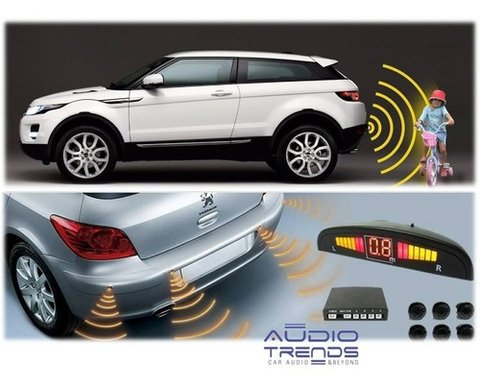 Sensor De Estacionamiento Display Digital Fiorino-partner