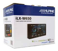 Stereo Alpine Ilx-w650 7 Apple Car Play- Android Auto- Gps - Audio Trends