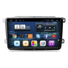 "Stereo Multimedia 9"" para VW Virtus / T-CROSS 2018-2020 con GPS - WiFi - Mirror Link para Android/Iphone"