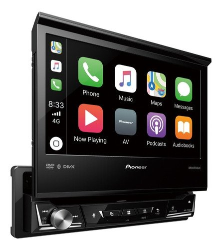 Stereo DVD Pioneer Indash AVH-Z7250BT con Android Auto - Apple Car Play - Bluetooth - USB