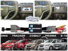 Interface Video Chevrolet Tracker Onix My Link Ft-free-gm 16