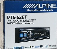 Stereo Alpine Ute 62bt Bluetooth Usb Multicolor iPhone  - Audio Trends