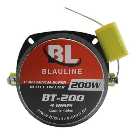 Super Tweeter Bala 200w Bt-200 Blauline 8 Ohms