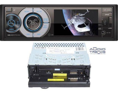 Stereo DVD SoundStream VR-345B con USB - SD - Bluetooth