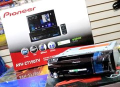 Stereo DVD Pioneer Indash AVH-Z7250BT con Android Auto - Apple Car Play - Bluetooth - USB - Audio Trends
