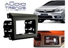 Marco Frente Adaptador 2 Din Para Honda Civic 2012-2013-2014 - Audio Trends