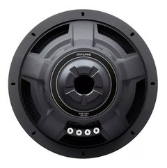 "Subwoofer 12"" Alpine S-W12D4 1800w - Doble Bobina 600w Reales - Audio Trends"