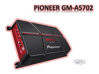 Potencia Pioneer Gm-a5702 2 Ch 1000w Max Puentiable 2017 New - audiotrends