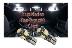 Lampara Led T10 5 Led Creed Blanco Frio Can-bus Posicion New - comprar online