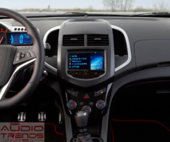 "Stereo Multimedia 9"" para Chevrolet Aveo 2010 al 2015 con GPS - WiFi - Mirror Link para Android/Iphone - Audio Trends"