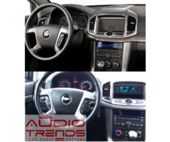 "Stereo Multimedia 8"" para Chevrolet Captiva 2013 al 2016 con GPS - WiFi - Mirror Link para Android/Iphone - Audio Trends"
