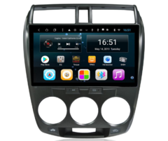 "Stereo Multimedia 10"" para Honda City 2008 al 2014 ( Aire Manual ) con GPS - WiFi - Mirror Link para Android/Iphone - comprar online"