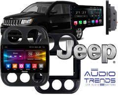 "Stereo Multimedia 10"" Jeep Patriot / Compass 2010-2015 con GPS - WiFi - Mirror Link para Android/Iphone"