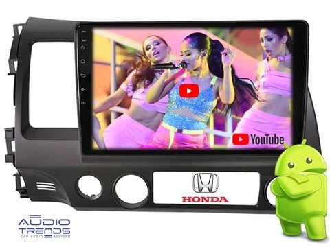Stereo Honda Civic Central Multimedia Android 10 Usb Gps Bt
