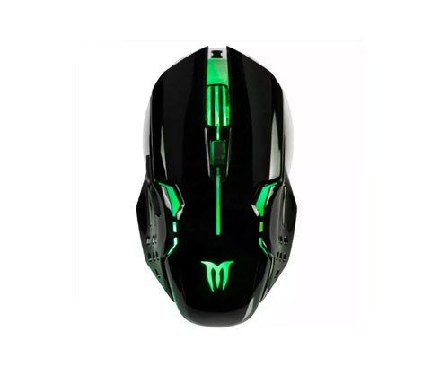 Mouse Gamer Multicolor Panter Gm301 Con Luz Usb