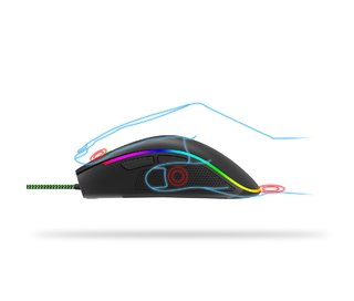 Mouse Gamer Multicolor Panter Gm302 en internet