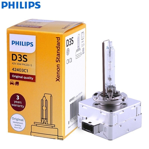 Lampara Philips de Xenon Original D3S 12v 35w 4300k