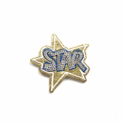 PATCH Star Paetês - 5,5x6,5cm