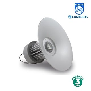 Luminária Industrial LED 75w Luz Branca Chip Philips 70276-6K