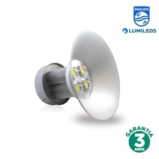 Luminária Industrial LED 240w Luz Branca Chip Philips 70278