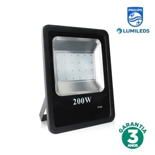 Refletor LED 200w Luz Amarela Chip Philips 70186-3K