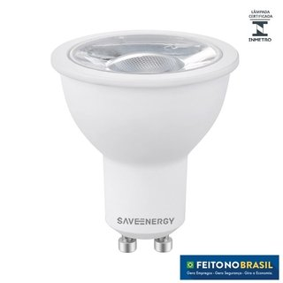 Lâmpada LED Dicróica 4.8w 4000k Save Energy SE-130.1436