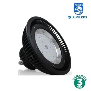 Luminária LED Industrial 150w 120° Luz Branca Chip Philips 70280-6K