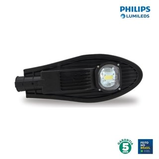 Luminária LED Pública 75w 3000k Chip Philips 90720