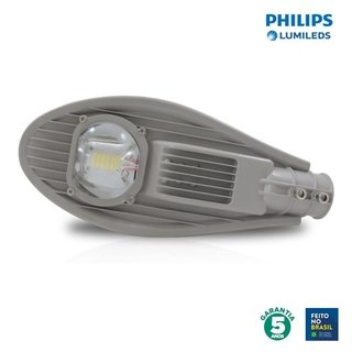 Luminária LED Pública 24w 5050 5000k Chip Philips 91240