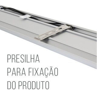 Luminária LED Sobrepor Batten Light 240cm 150w Luz Branca 71003