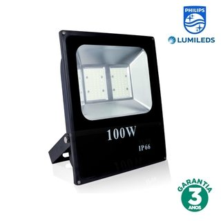 Refletor LED 100w Luz Branca Chip Philips 70107