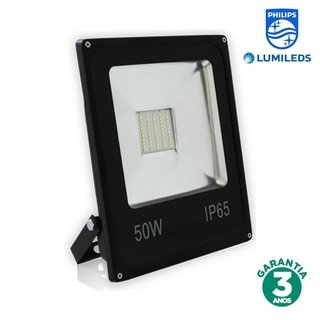 Refletor LED 50w Luz Branca Chip Philips 70032