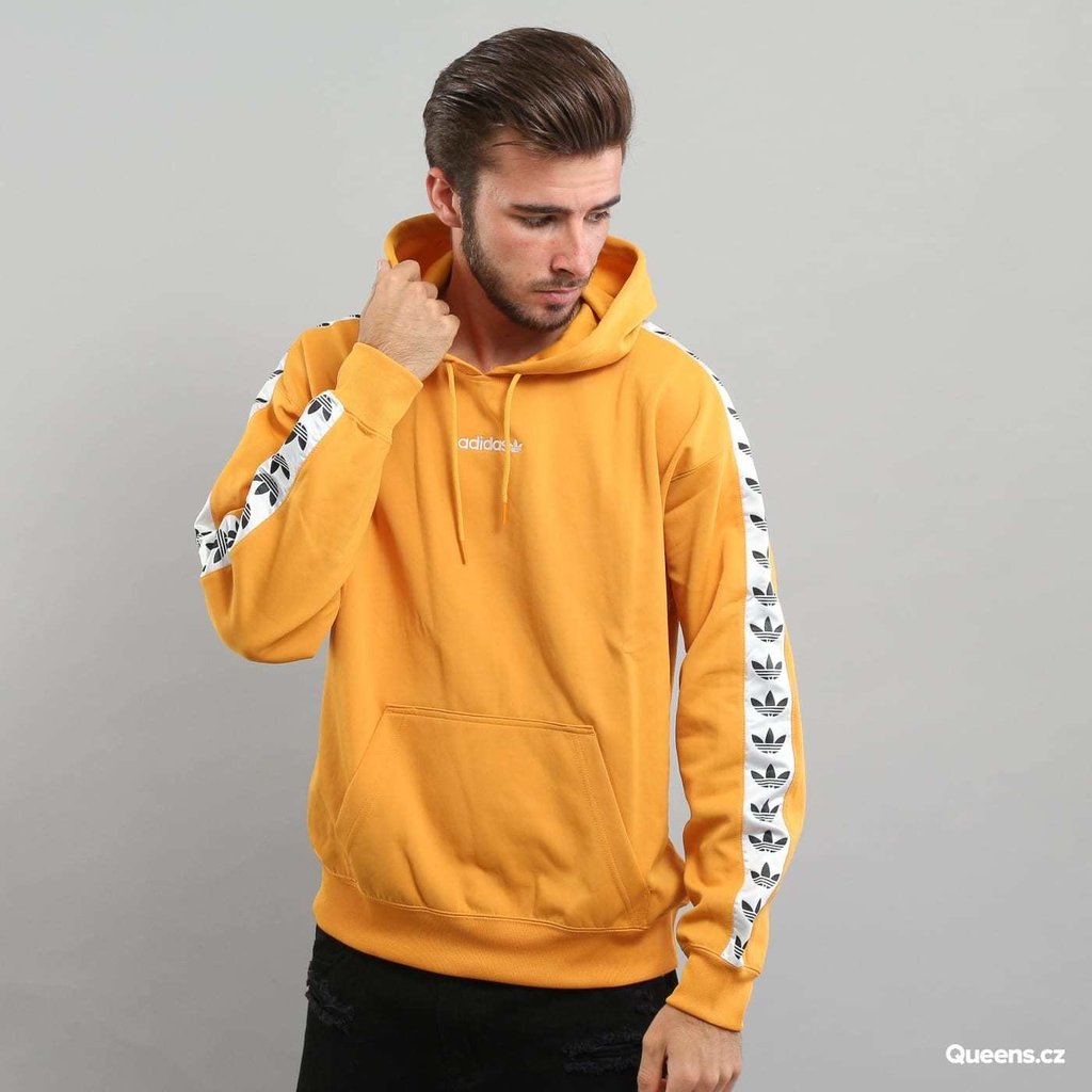 12e2a2faa54634 Adidas Originals Adicolor TNT Tape Hoodie In Yellow BS4669 Pullover Hoodies.  12% OFF. 1