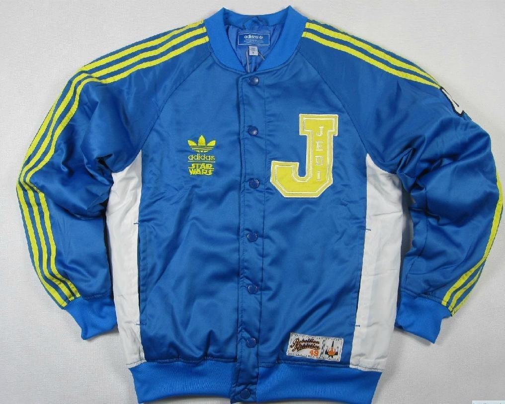 20906cf8c06f09 Original Adidas Star Wars Jedi Varsity P01676 Coat Blue Jacket