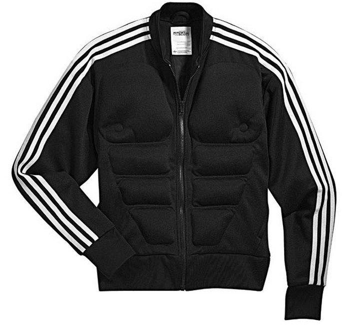Adidas Coat Jeremy Scott Js Obyo X29826 Original Jacket Fashion Track Black Tt Gorilla pSMVqzU