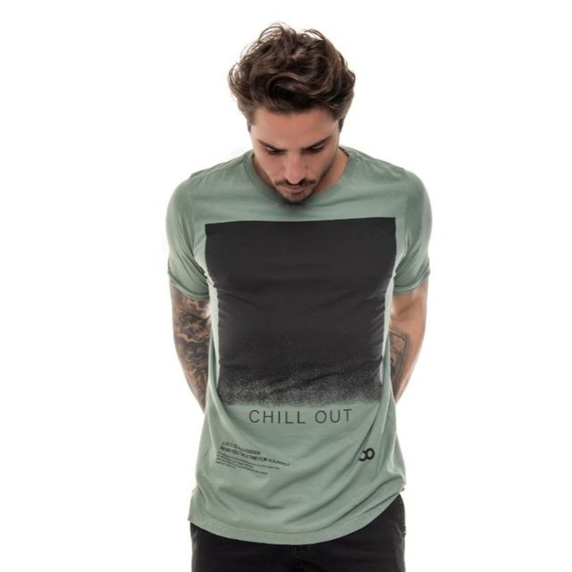 T-SHIRT CLASSIC CHILL OUT VERDE